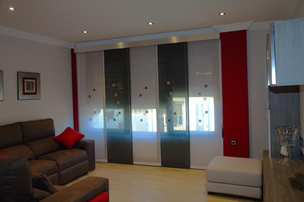 Entre telas paneles japoneses - Tipos de cortinas para dormitorio ...